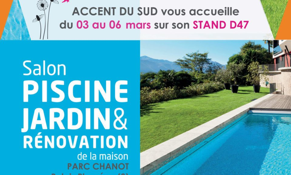 Construction piscine traditionnelle à Marseille salon Parc Chanot