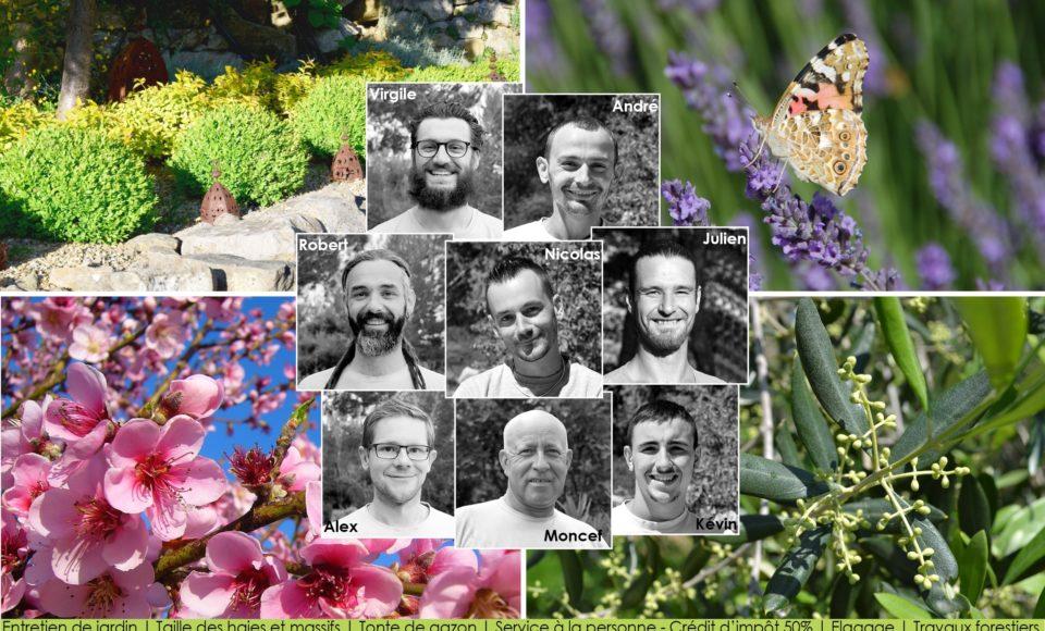 Entreprise espaces verts Aix-en-Provence l'équipe