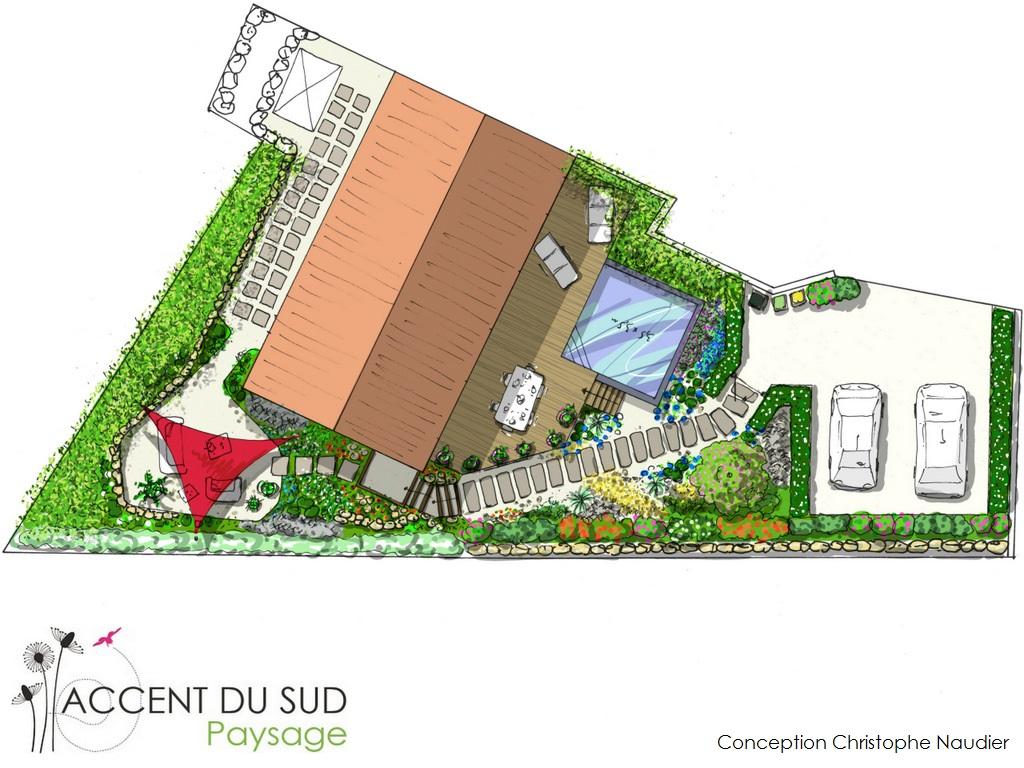 aménagement espace vert à Lyautey