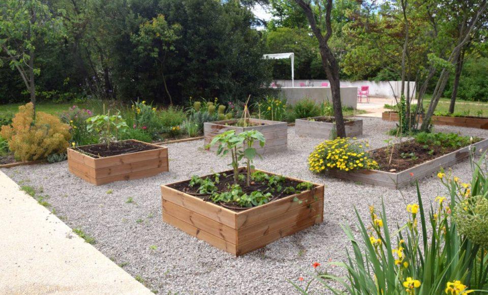 Conception jardin potager Accent du Sud