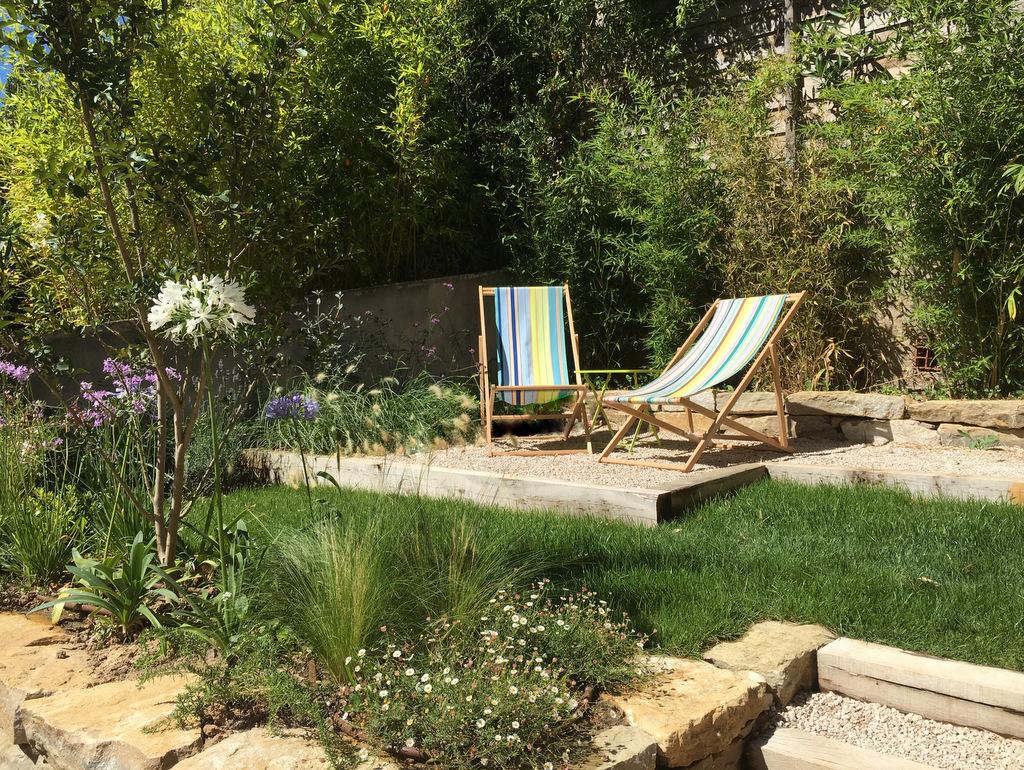 Création jardin espace détente