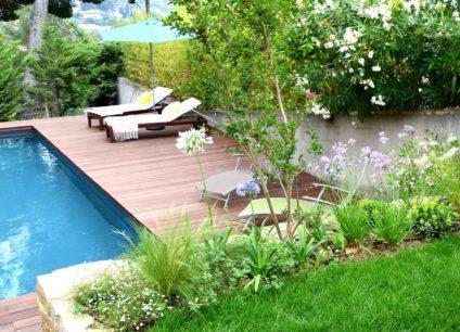 Conception jardin terrasse en bois
