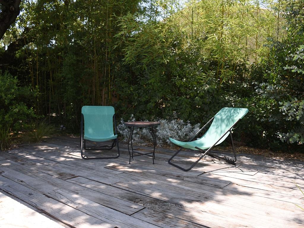 Conception d'un jardin avec terrasse en bois