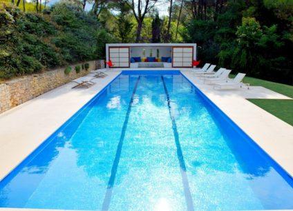 Construction d'une piscine monobloc exemple réalisation