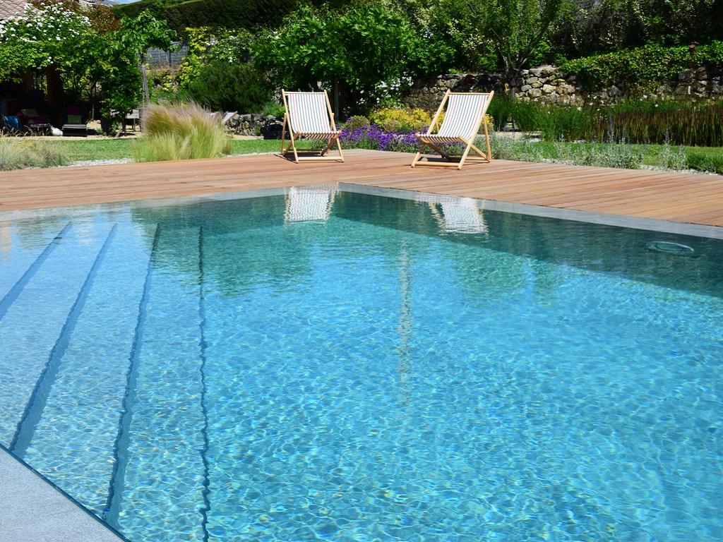 Construction piscine à Aix-en-Provence réalisation