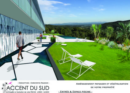 Entretien du jardin et construction de piscine Accent du Sud