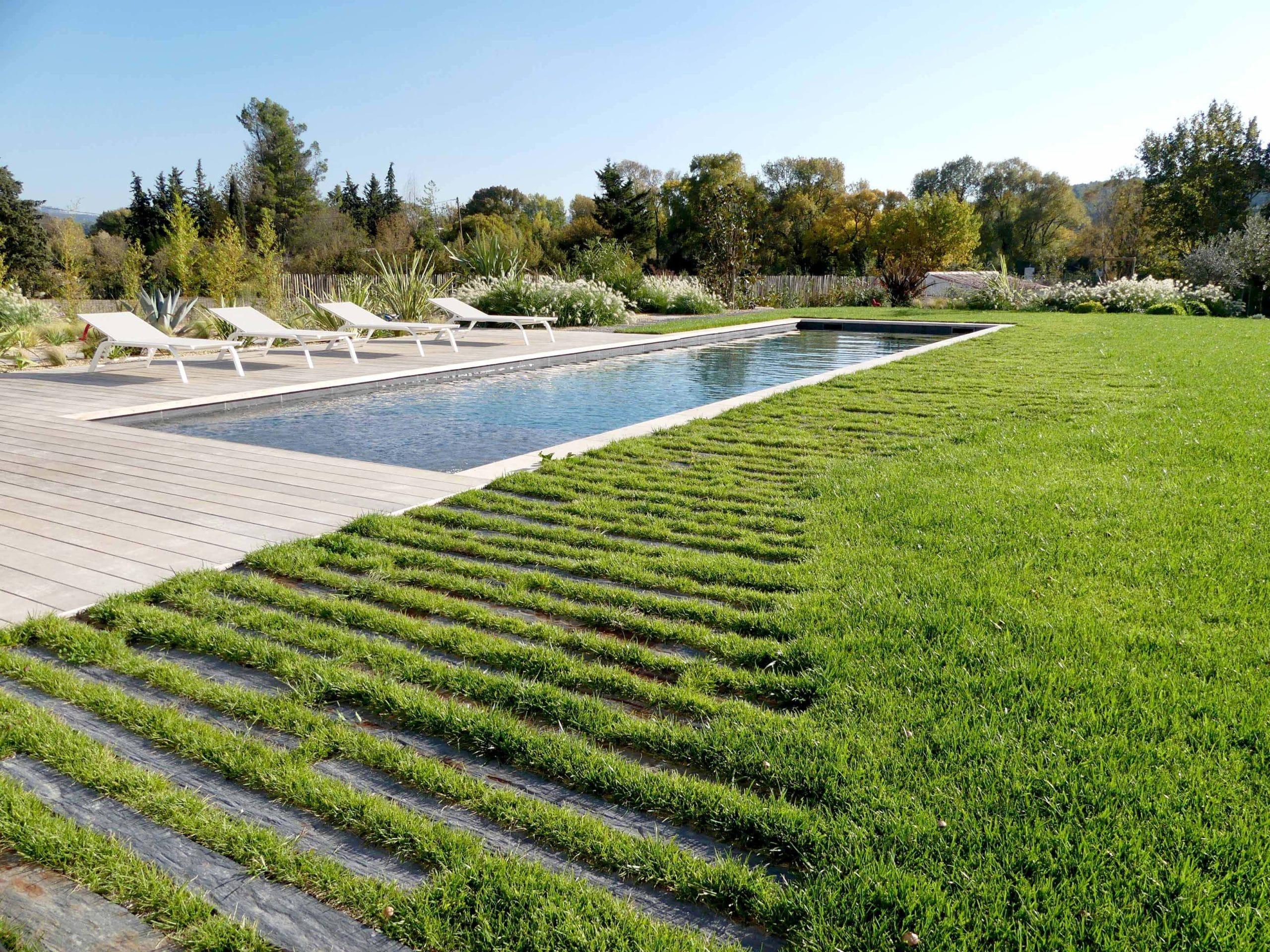 Plantes Pour Jardin Contemporain aménagement d'un jardin à calas - réalisée par nos experts