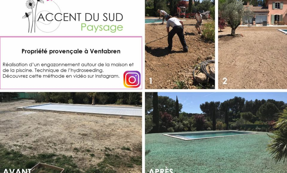Création de jardins paysagers avant après